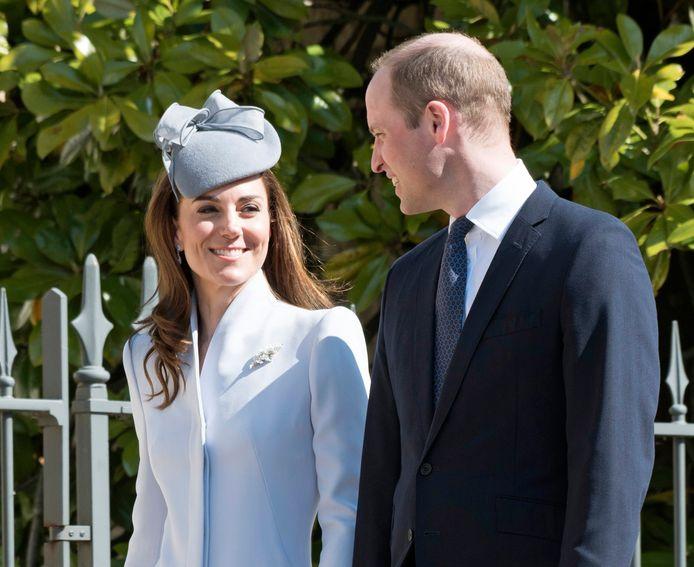 William en Catherine.