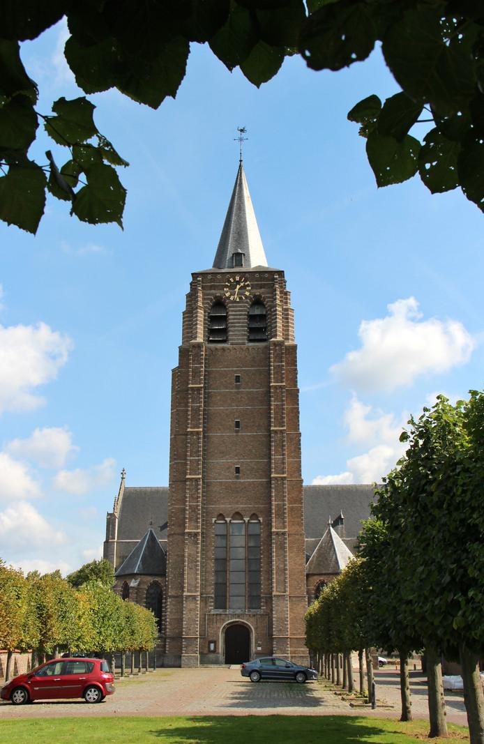 De Lambertuskerk in Wouw.