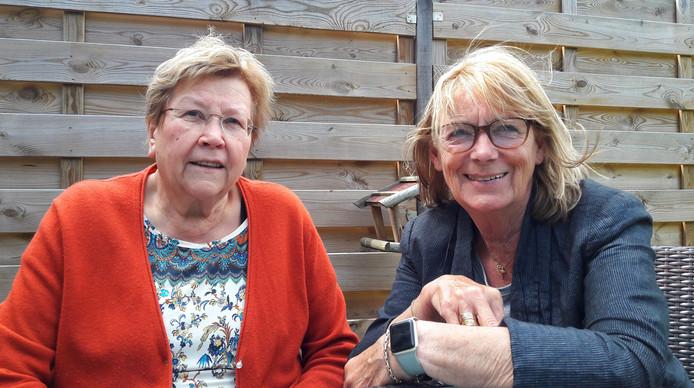 Marijke Kemperman en Riekie Coppelmans van De Parel van Sint Anthonis.