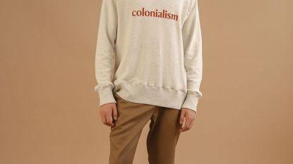 Italiaans modelabel slaat de bal mis met een 'kolonisatie'-collectie