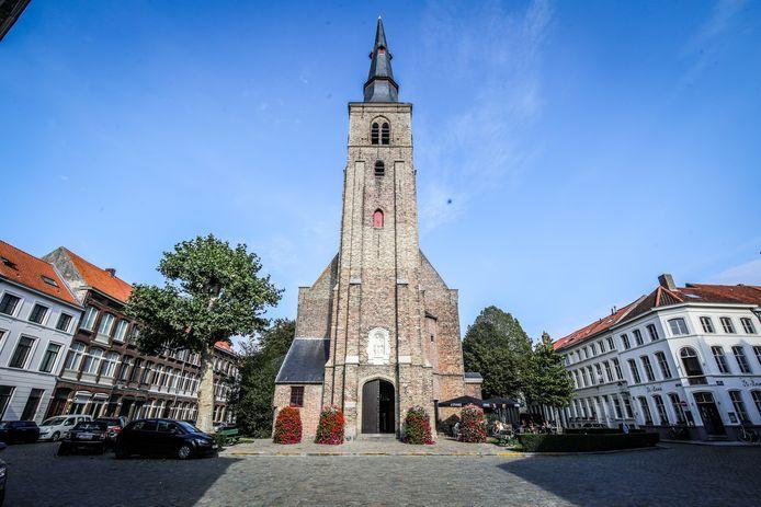 Het Sint-Annaplein wordt heraangelegd.