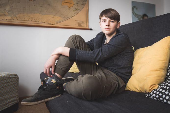 Zoon Juul Bracke (14) onderging als baby op kerstavond een levertransplantatie in het UZ Gent.