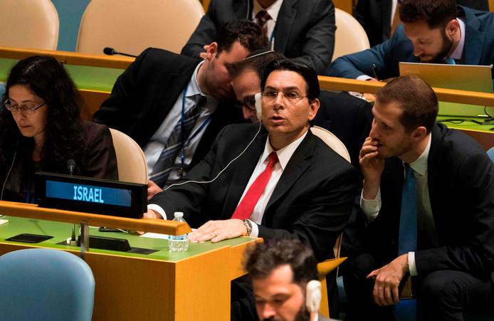 De Israëlische ambassadeur bij de Verenigde Naties Danny Danon.