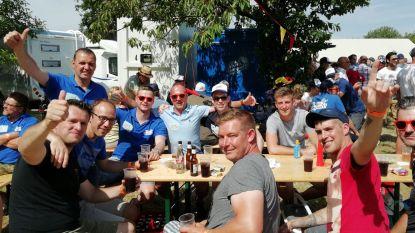 IN BEELD. Sfeer zit er al goed in op 'Forza Lampaertland', supporters klaar voor BK Wielrennen