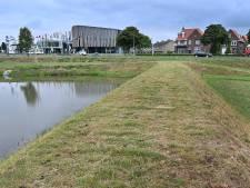 Gekortwiekte oevers bij Lovendaalsingel in Grave: foutje