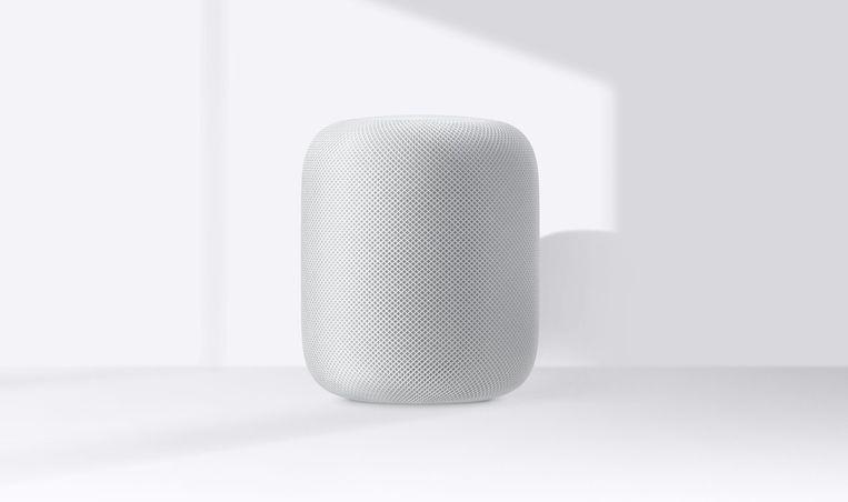 De Apple HomePod (met slimme assistent Siri)