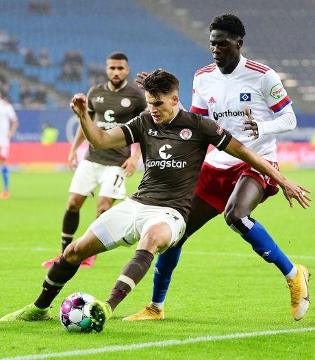 St. Pauli bezorgt HSV eerste puntenverlies in derby