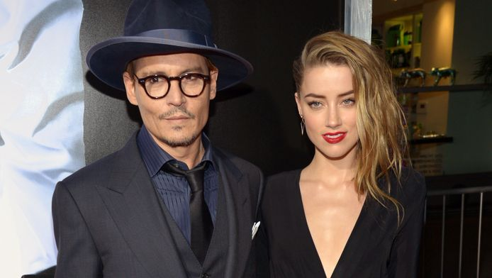 Johnny Depp en Amber Heard