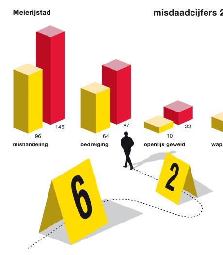 Veel meer meldingen van grof geweld in Veghel en Schijndel, 'Cijfers die je liever niet hebt'