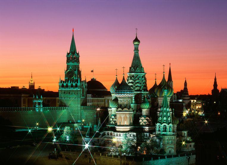 De Basiliuskathedraal in Moskou. In Moskou wonen de meeste miljardairs. Beeld Thinkstock