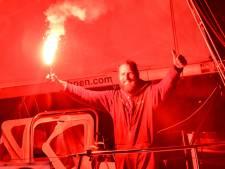 Zeezeiler Mark Slats zet na maanden weer voet op Nederlandse bodem