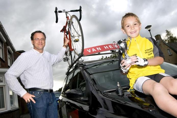 Arthur van Dongen: 'Sinds Rabobank in de wielersport kwam, hoop je daar ooit een kans te krijgen.'foto Edwin Wiekens/het fotoburo
