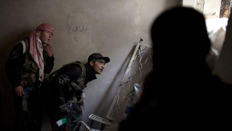 Syrische rebellen Beeld ANP