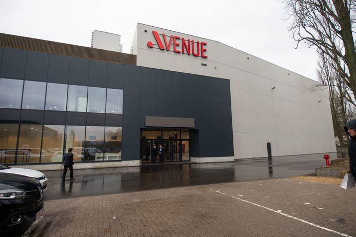 Avenue in Antwerp Expo.