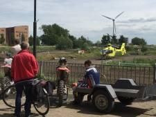 Motorcrosser zwaargewond na val op crossbaan in Gouda