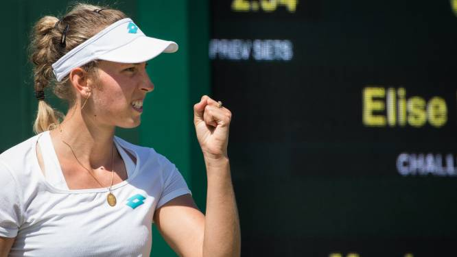 Elise Mertens overwint valse start en wringt zich langs Roemeense naar derde ronde Wimbledon
