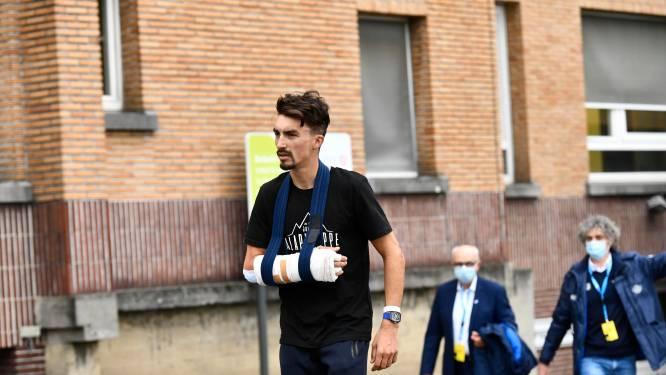 Wereldkampioen Julian Alaphilippe met succes geopereerd aan rechterhand na valpartij in Ronde