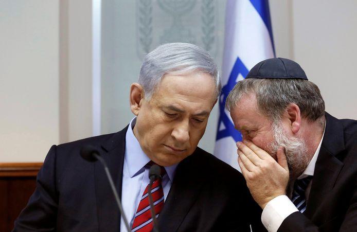 Avichaï Mandelblit et Benjamin Netanyahu