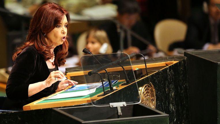 Cristina Fernández Beeld afp