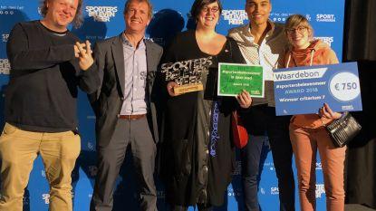 Stad Herentals krijgt prijs 'Sport op het werk'
