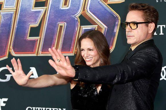 Robert Downey Jr.  en zijn vrouw Susan Downey.