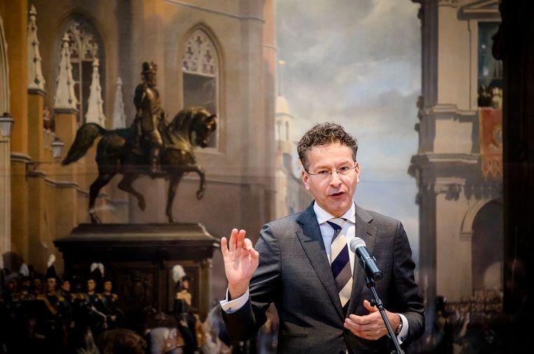 Landbouweconoom Dijsselbloem (53) was minister van Financiën in het kabinet-Rutte II. Beeld ANP