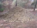 Vorig jaar september zijn veel droge en mulle delen gerepareerd en versterkt met leemhoudend zand.