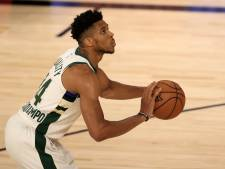 Antetokounmpo sacré pour la deuxième fois d'affilée meilleur joueur de la saison NBA