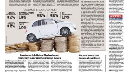 Autoleningen nog nooit zo goedkoop