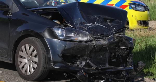 Opnieuw auto-ongeluk op Tiendweg in Lithoijen: ditmaal drie gewonden.
