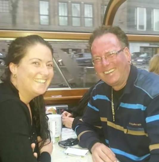 Henk en zijn dochter Marieke