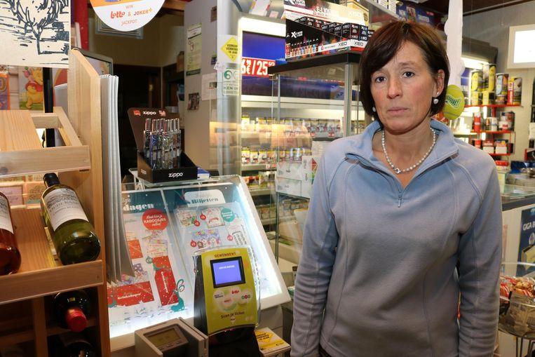 Sophie Van Havere van dagbladhandel De Zin uit Sint-Niklaas is het laatste slachtoffer van de bende.