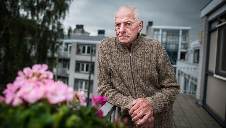Jan Bosman vindt het verschrikkelijk dat oudere Jordanezen niet meer aan een speciale woning in het centrum kunnen komen Beeld Mats van Soolingen