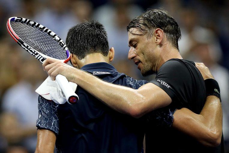 Millman moest uiteindelijk zijn meerdere erkennen in Djokovic.