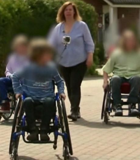 Acht jaar cel voor Duitse 'horrormoeder' die kinderen jarenlang in rolstoel dwong