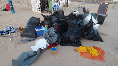 """Vrijwilligers vinden zaterdagavond meer dan 2.000 liter afval op strand: """"Het was een oorlogszone"""""""