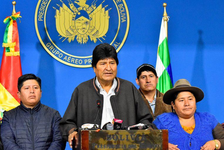 President Evo Morales.  Beeld EPA