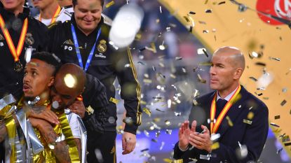 9 op 9 keer prijs: Zizou coacht geen finales, Zizou wínt finales