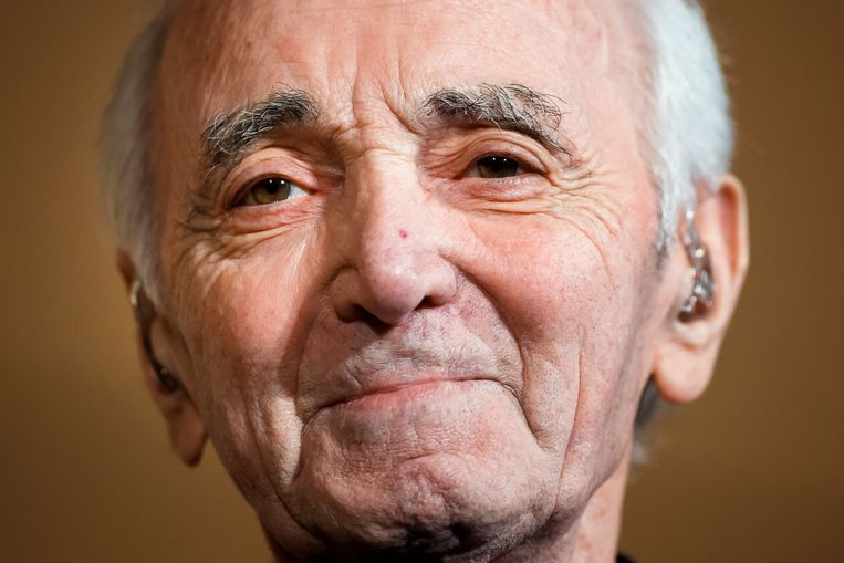 De maandag overleden Franse zanger en acteur Charles Aznavour.