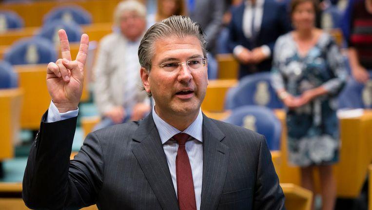 Het onlangs als Tweede Kamerlid geïnstalleerde Amsterdamse VVD-raadslid Daniël van der Ree. Beeld anp