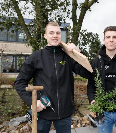 Na 19 uur bikkelen is Brabants vriendenduo nationaal kampioen tuinaanleg
