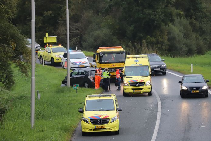 Op de A1 bij Hengelo heeft maandag aan het einde van de middag een ongeval plaatsgevonden.