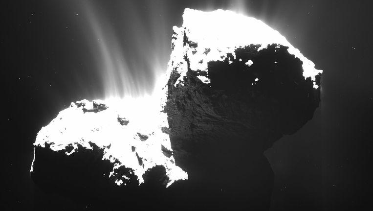 Komeet 67P. Beeld ap