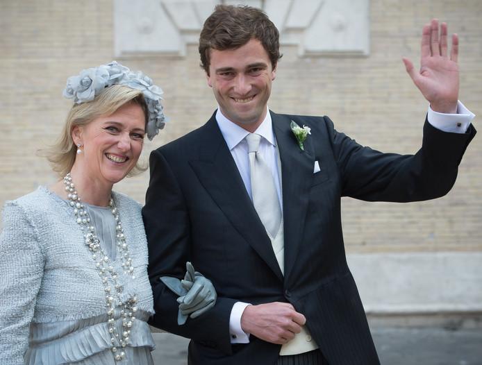 La princesse Astrid et son fils
