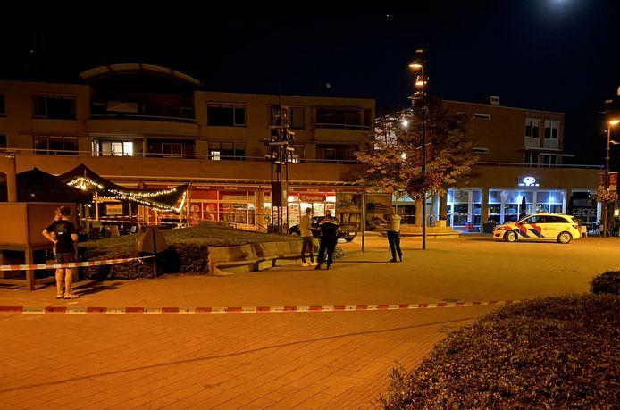 Het centrum van Hoevelaken werd afgesloten na het steekincident.