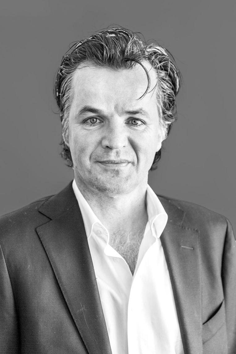 Erik Flentge, fractievoorzitter van de SP in de Amsterdamse gemeenteraad. Beeld Tammy van Nerum