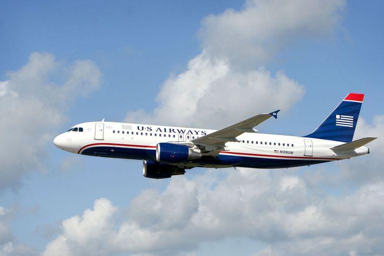 Een A320-toestel van United Airways. Beeld AFP
