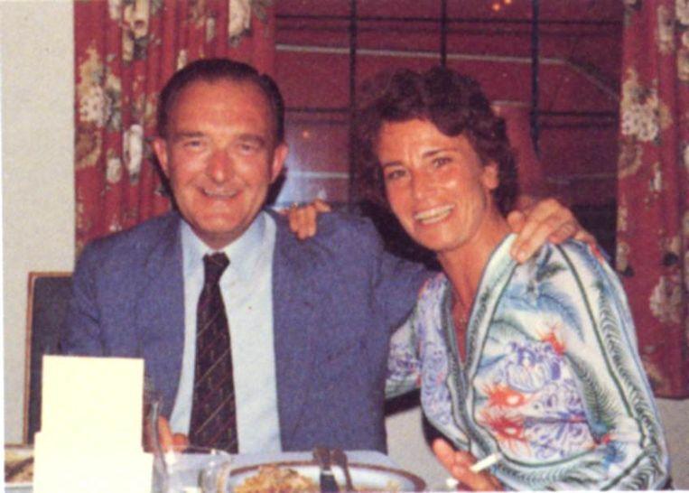 Dora Janssen-Arts met haar echtgenoot Paul.