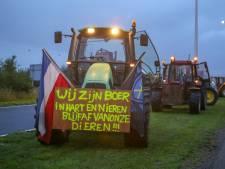 Protesterende boeren bij Schiphol vertrokken