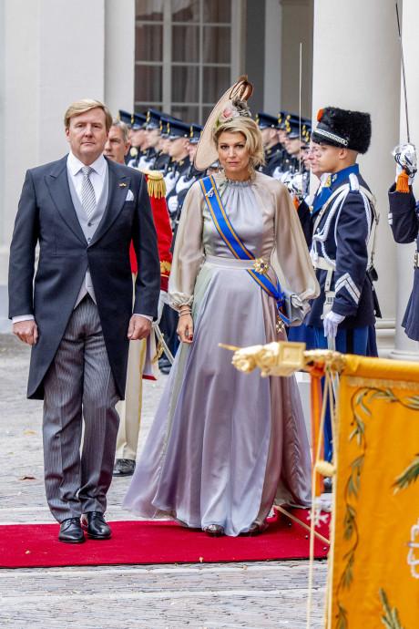 Máxima kocht haar pastelkleurige jurk 'gewoon online'